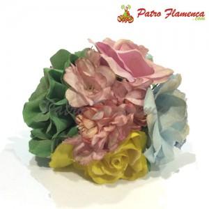 Flor Ramillete Cártama Metalizado
