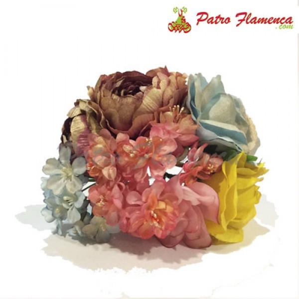 Flor Ramillete Casarabonela Metalizado