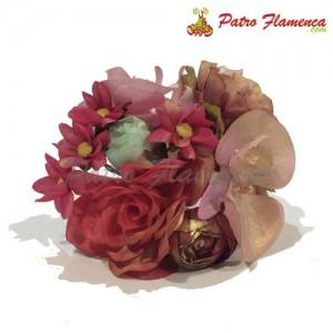 Flor Ramillete Ojén Metalizado
