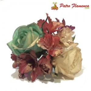 Flor Ramillete Torremolinos Metalizado