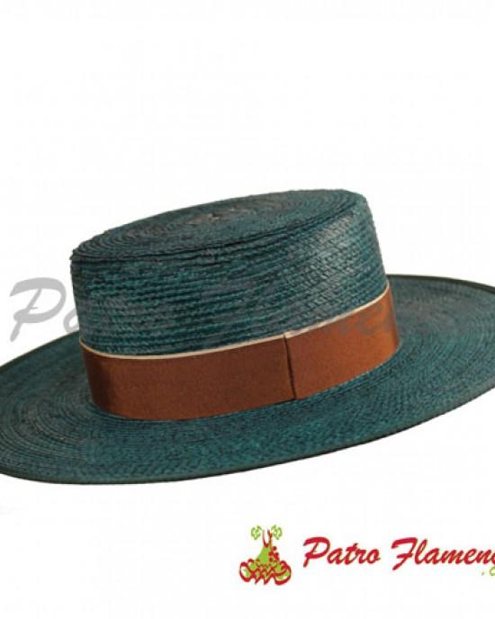 Sombrero Palma Imperial Fantasía Ala Ancha