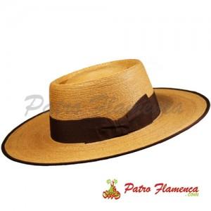 Sombrero  Palma Imperial Portugués Ala Ancha