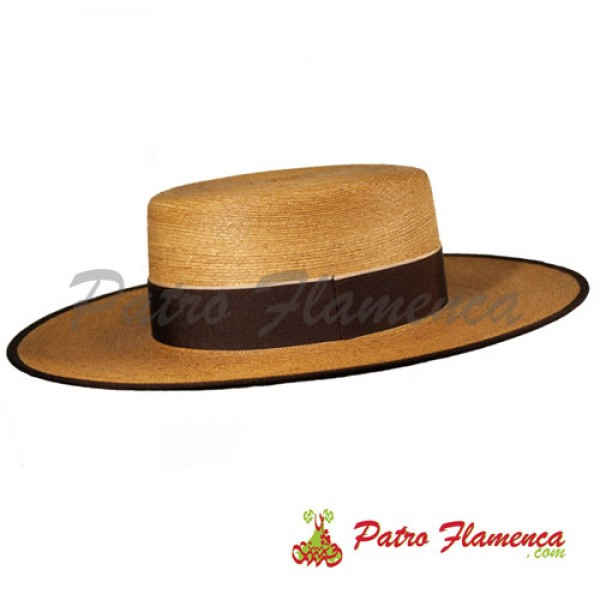 Sombrero  Adulto Ala Ancha Palma Clásica