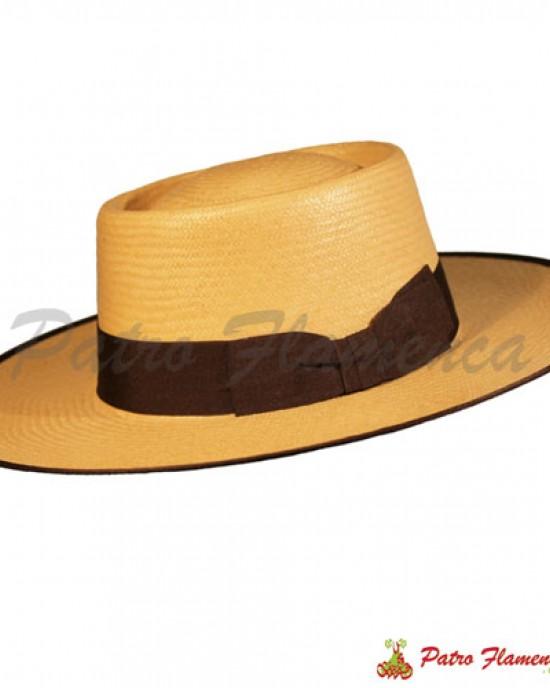 Sombrero  Panamá Portugués Ala Ancha