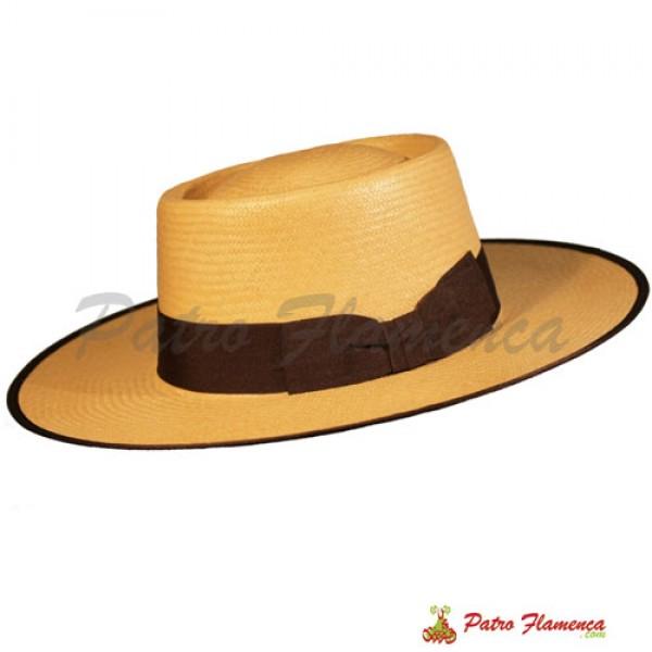 Sombrero  Adulto Ala Ancha Panamá Portugués
