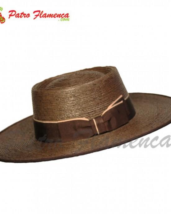 Sombrero Palma Imperial Portugués Fantasía Ala Ancha