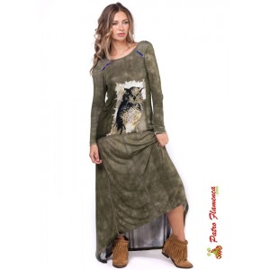 Vestido Largo Tribea