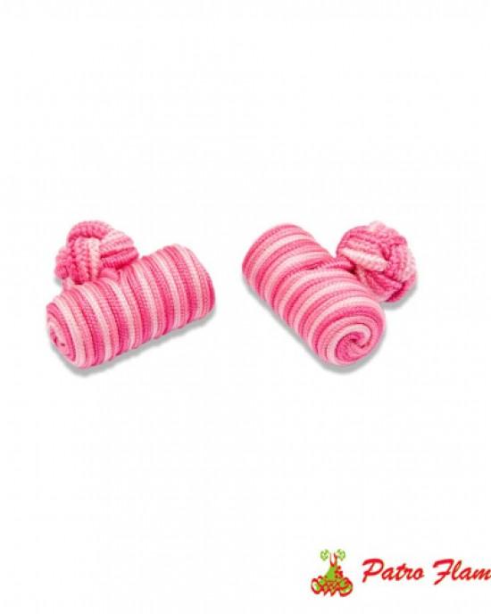Gemelos Barril Fuxia-Rosa-Rosa claro