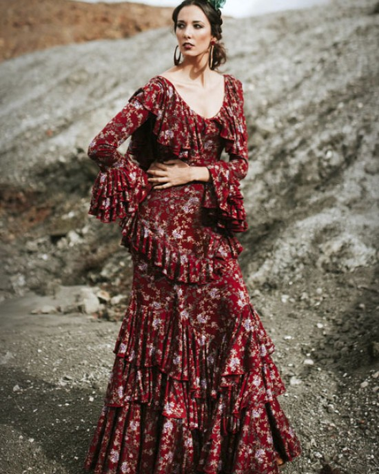 Almonte Traje Flamenca