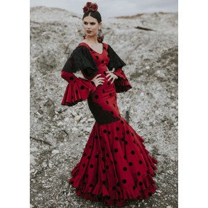 Pensamiento Traje Flamenca