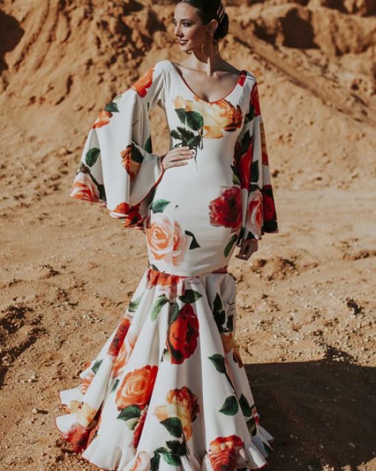 Rosaleda Traje Flamenca