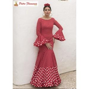 Solera Traje Flamenca