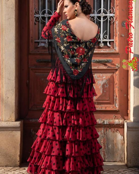 Traje Calañas MM Flamenca
