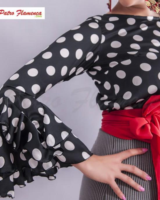Camisa Maravilla Lunares Flamenca