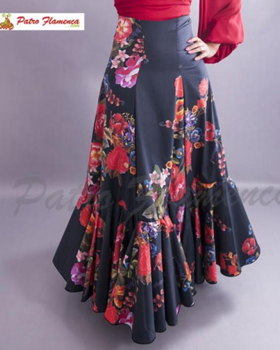 Serranía Falda Flamenca